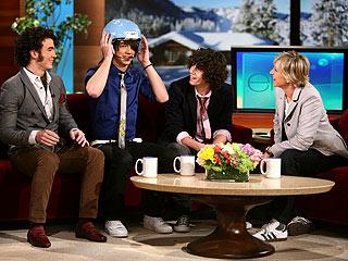 Ellen DeGeneres Gets Protective of Joe Jonas