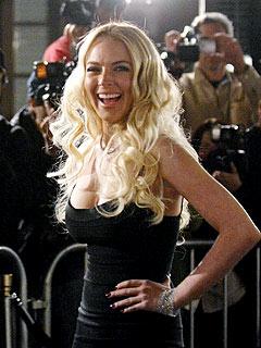 Lindsay Lohan's Red Carpet Return