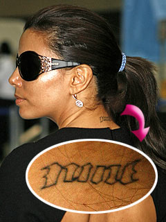 Eva Longoria-Parker Debuts Tattoo