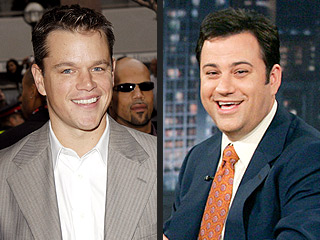 Behind Matt Damon&#39;s Raunchy Payback to Jimmy Kimmel