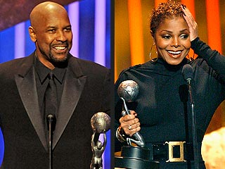 Denzel Washington, Janet Jackson Win NAACP Prizes