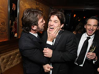 Javier Bardem Gets What He Needs at Post-Oscar Bash