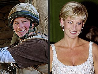 Prince Harry: Diana Is Looking Down on Me
