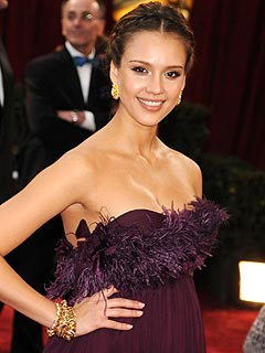 Jessica Alba Gets Baby Congrats from Costars