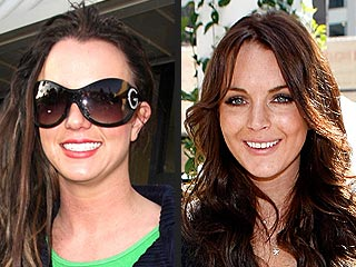 Lindsay Lohan Subs for Britney as Party Host