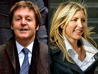 Paul McCartney & Heather Mills Granted Preliminary Divorce