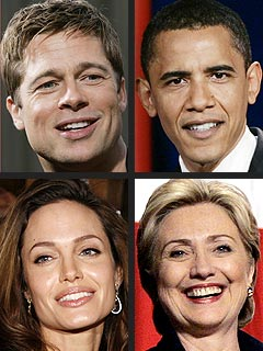 Brad & Angelina Related to Presidential Hopefuls