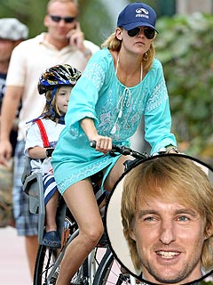 Kate and Owen Use Buddy System for Their Bike Ride