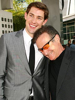 John Krasinski: Robin Williams Is a 'Classy Guy'