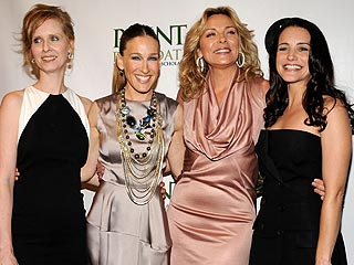 Sex and the City Stars Reunite – and Squeal! – on the Red Carpet