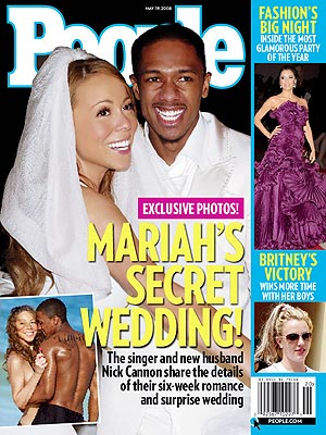 EXCLUSIVE: See Mariah & Nick's Wedding Photo!