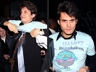 John Mayer's Late-Night Fashion Statement