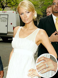 Paris Hilton Rocks a New Ring – from Benji Madden