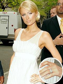 Paris Hilton Rocks a New Ring – from Benji Madden