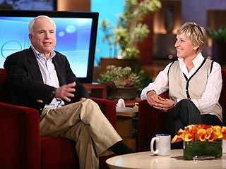McCain Clashes with DeGeneres on Gay Marriage