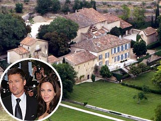 Report: Angelina & Brad Rent French Chateau