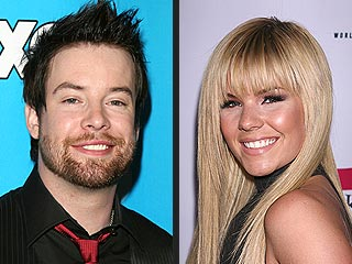 David Cook and Kimberly Caldwell Split