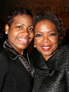 Fantasia Barrino Thanks Her Mentor Oprah