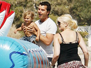 Gwen & Gavin Throw Son a Star-Studded Birthday Bash