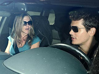 Jen and John Reunite in L.A.