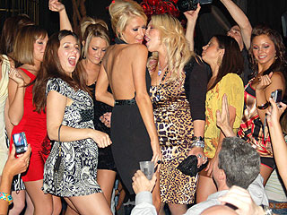 paris hilton party