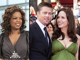 Oprah, Brad & Angelina Top New Power List