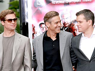 Pitt, Clooney and Damon Push for Cyclone Aid