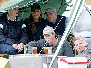 Prince William Spends 26th Birthday with Girlfriend