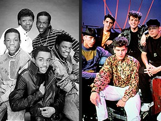 New Kids on the Block & New Edition Record Together