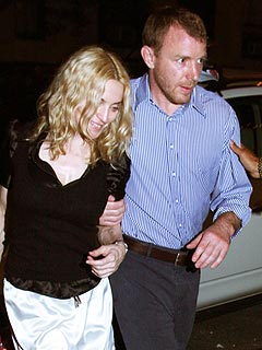 Madonna & Guy Enjoy Dinner &#8211; Together! &#8211; in N.Y.C.