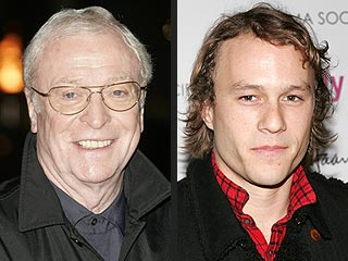 Michael Caine Predicts Heath Ledger Will Get an Oscar Nod