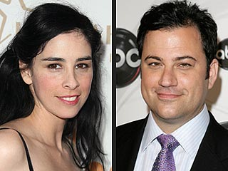 Jimmy Kimmel and Sarah Silverman Split