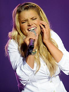 A 'Thankful' Jessica Simpson Gets Emotional at Country Festival