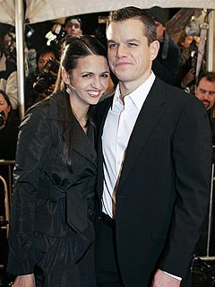 Matt Damon and His Wife Welcome a Girl