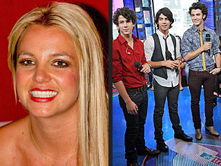 Britney, Jonas Brothers Up for VMA Video of the Year