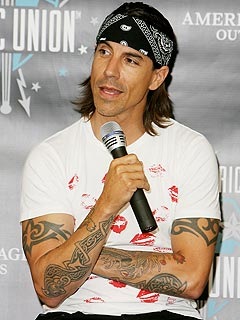Anthony Kiedis's Red-Hot Roommate? His Son
