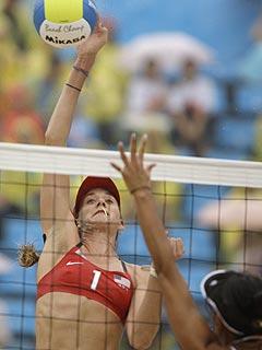 Olympian Kerri Walsh Retrieves Gold – Wedding Ring