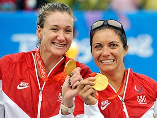 Kerri Walsh and Misty May-Treanor Strike Gold