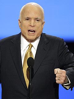 John McCain Picks Up on Theme of Change