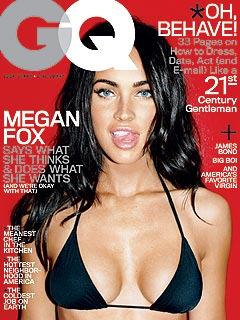 FIRST LOOK: Megan Fox's Sexy GQ Cover Pose