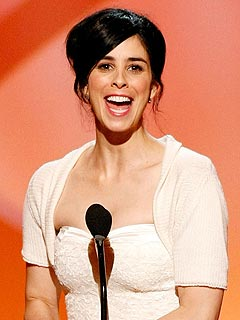 Sarah Silverman Thanks Jimmy Kimmel at Creative Arts Emmys