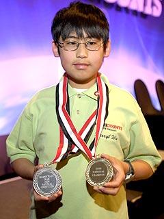 11-Year-Old Math Wizard Snags TV Award