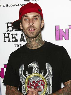 Travis Barker Back in the Recording Studio