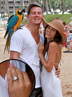 Channing Tatum's Fiancée Jenna Dewan 'So Freaking Happy!'