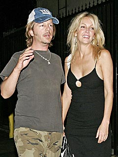 David Spade Checks In on Heather Locklear