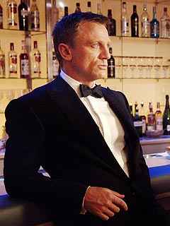 Daniel Craig Says 007's Martinis Left Him 'On the Floor'