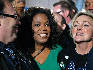Oprah on Obama's Election: 'It Feels Like Hope Won'