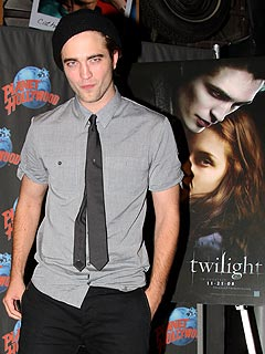 Twilight Star Robert Pattinson Gets 'Carried Away' While Kissing