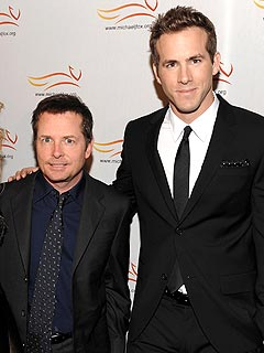 Ryan Reynolds Gets Marriage Advice from Michael J. Fox