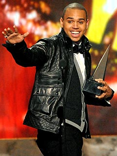 Chris Brown Dominates American Music Awards
